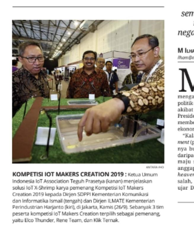 Kompetisi IoT Makers Creation 2019