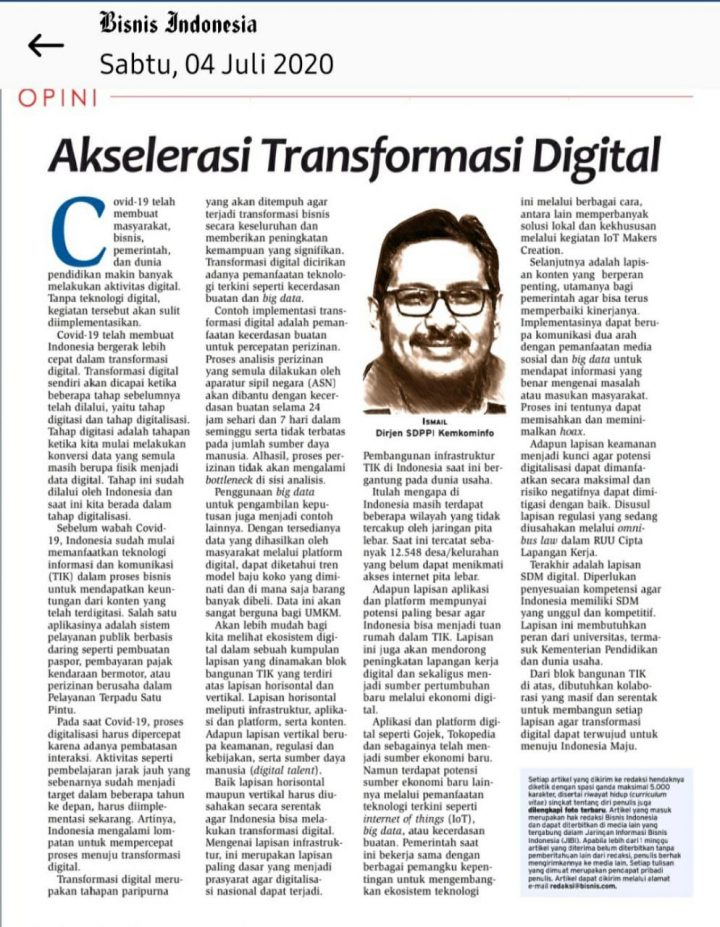 Akselerasi Transformasi Digital