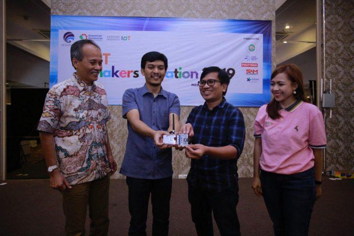 Makers Medan Jajal Koneksi LoRa, IoT Makers Creation: Mencari makers dengan solusi lokal