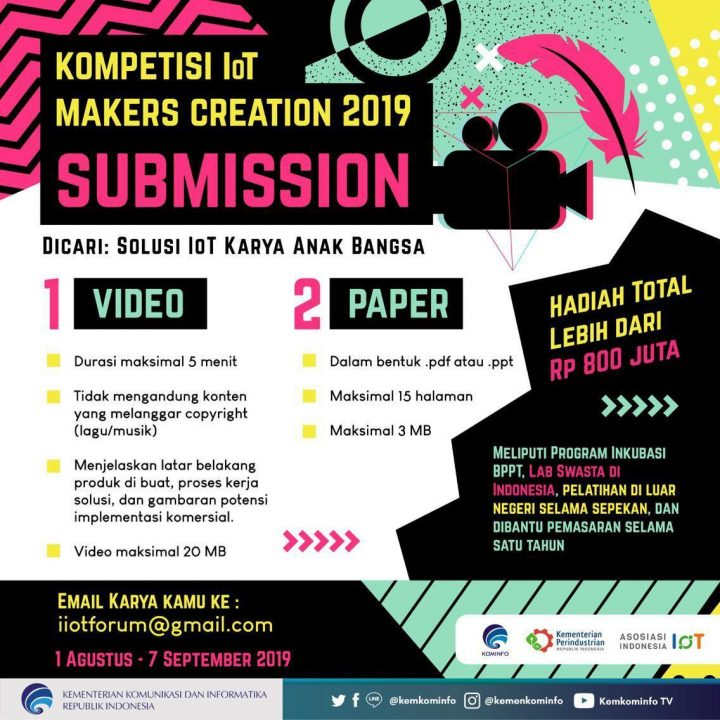 Kompetisi IoT Makers Creation: Next Stage from Makers to Market