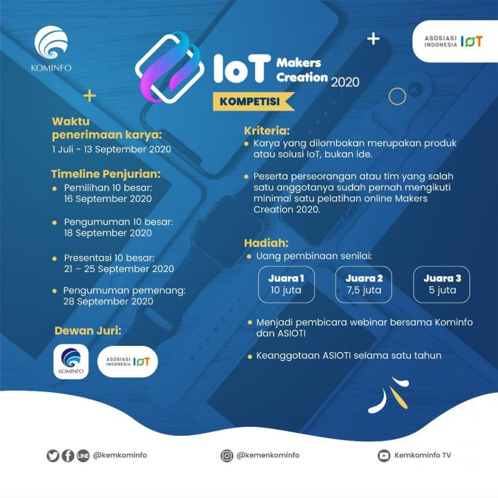 IoT Makers Creation 2020